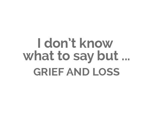 Grief and Loss Book